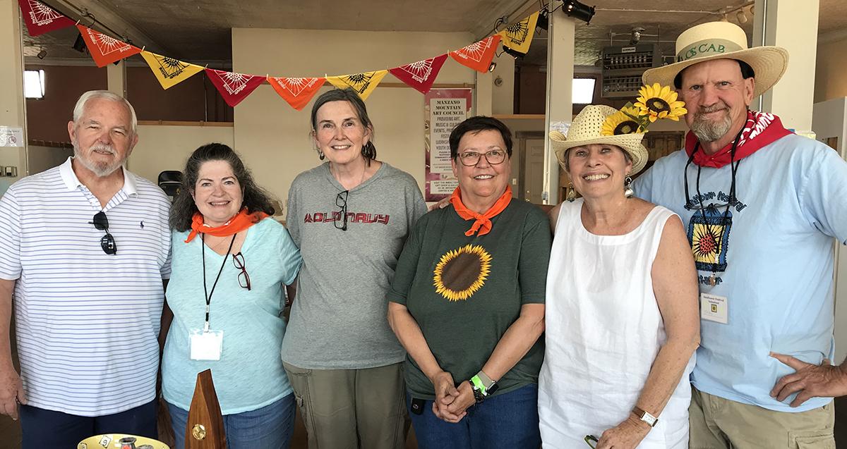 Volunteers at MMAC