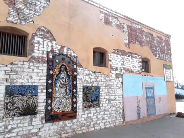 MMAC wall before restoration