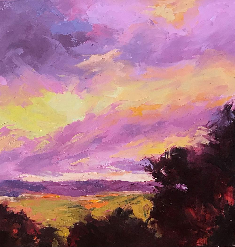 Addie Draper, oil painting