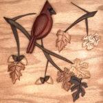 Dennis Prichard-Cardinal and Leaves